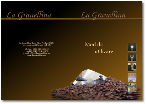 La granellina productia de cafetiere